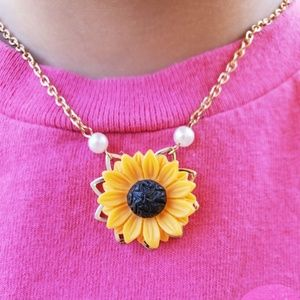 3 for $15 Sale Sunflower necklace